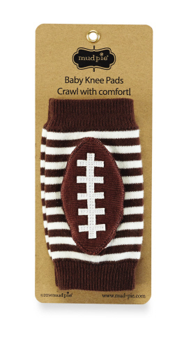 Mud Pie Football Knee Pads