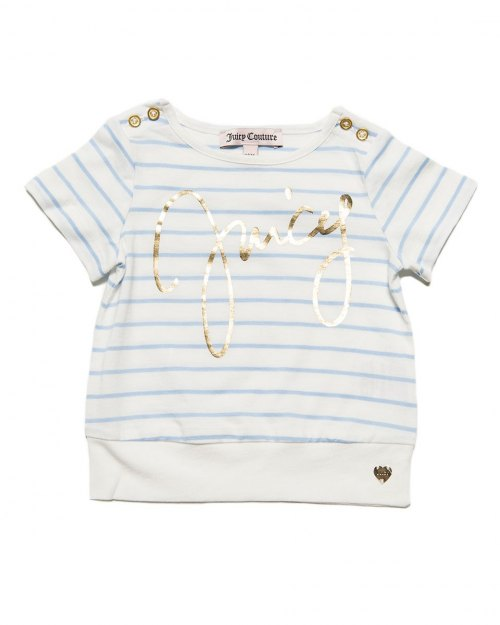 Juicy Couture Sky Blue Logo Tee