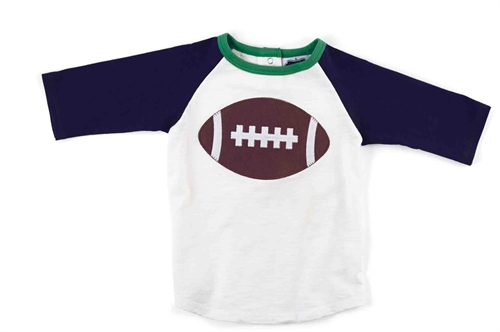 Mud Pie Football T-Shirt