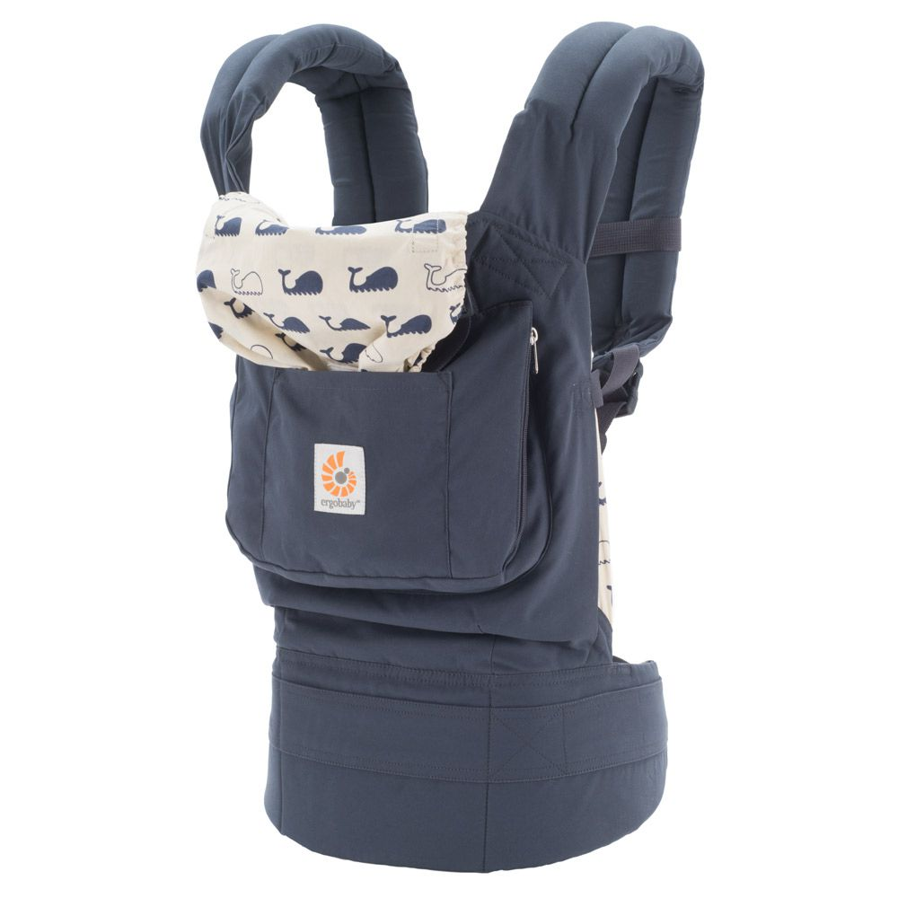Ergo Baby Carrier In Marine The Original Ergonomic Baby