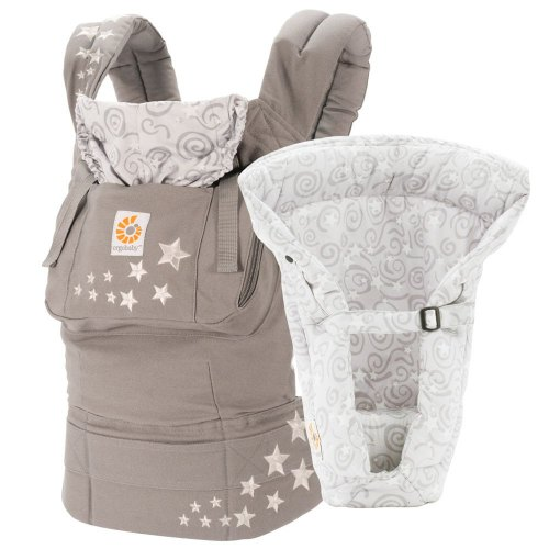 Ergo 360 Baby Carrier In Grey Four Comfortable
