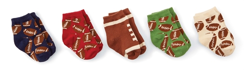 Mud Pie Football Sock Set