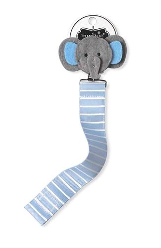 Mud Pie Blue Elephant Pacy Clip