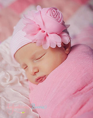 Newborn Beenie - Rose