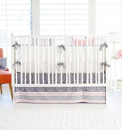 Harper in Coral Bedding - 3 Piece Set