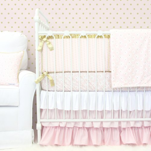 Caden Lane Blair's Bows Baby Bedding
