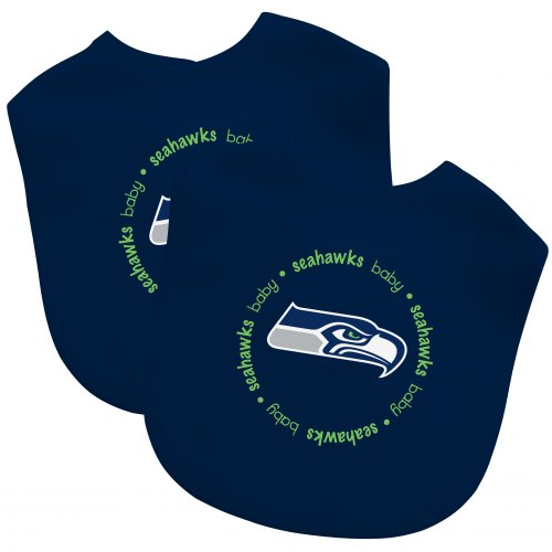 Seahawks Baby Bib Set