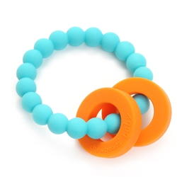 Chewbeads Mulberry Teether - Turquoise