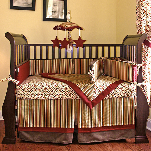 vintage baseball crib bedding sets 1