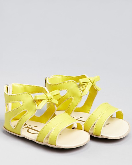 Juicy Couture Yellow Sandals
