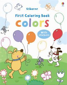 First Coloring Book - Colors