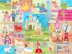 Royal Alphabet Canvas Reproduction