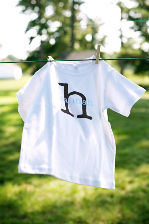 Personalized Girls or Boys Tee- The Hallie