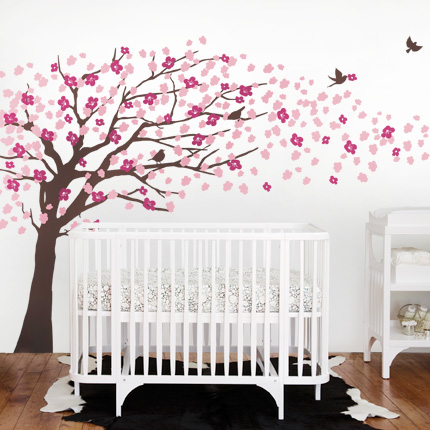 Cherry Blossom Tree- Elegant Style Brown