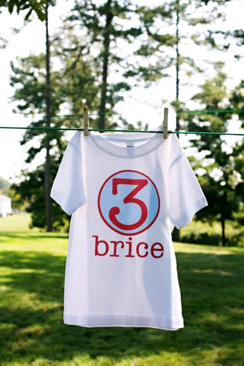 Personalized Birthday Number Shirt - The Texan