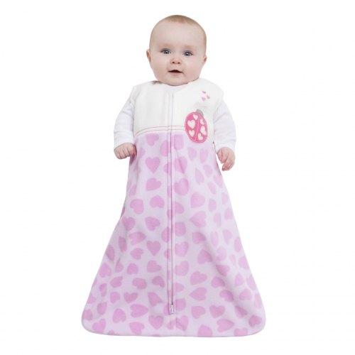 HALO SleepSack Fleece Wearable Blanket - Ladybug