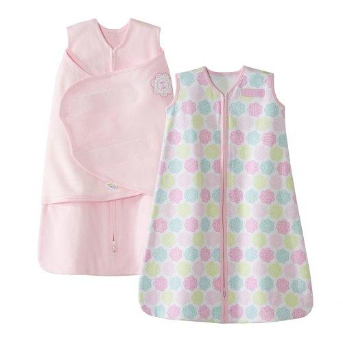 HALO SleepSack 2 Piece Gift Set - Pink Flowers