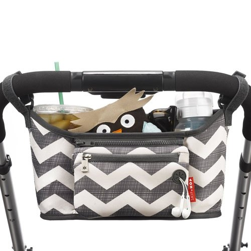 Grab and Go Stroller Organizer - Chevron