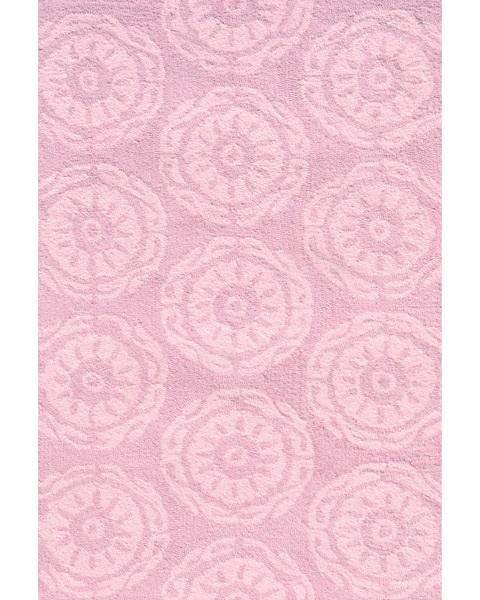 Twirl Rug - Pink