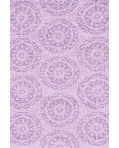 Twirl Rug - Lilac