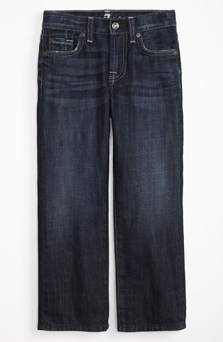 7 For All Mankind Boys Standard Straight Leg Jeans