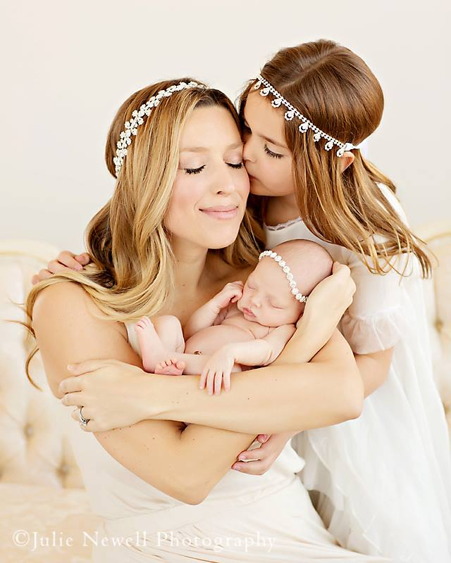 Enchanted Shimmer The Juliet Mommy Headpiece