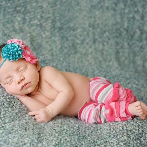Huggalugs Legwarmers Baby Lollipop Stripe