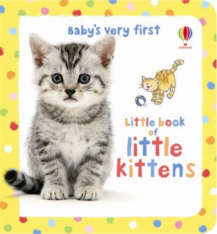 Babys Very First Little Book of Kittens