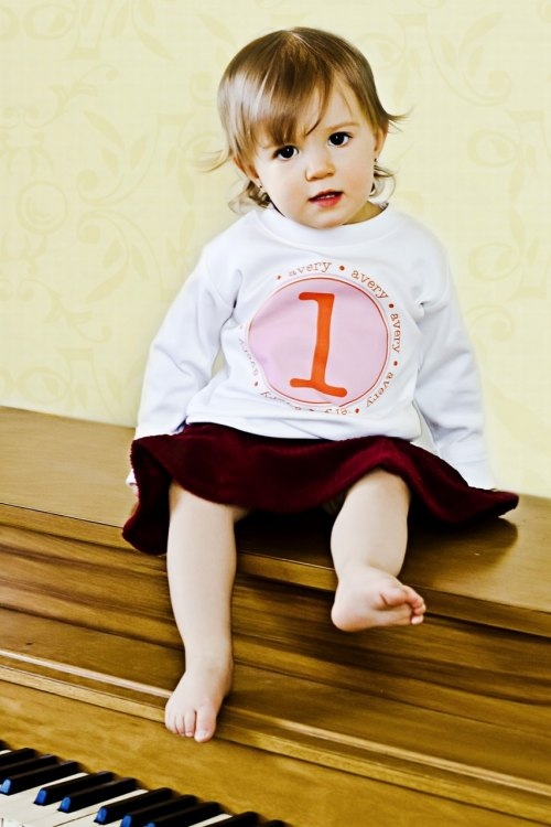 Personalized Birthday Number Shirt - The Original