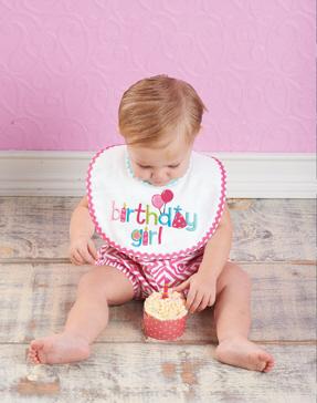 Mud Pie Birthday Party Bib