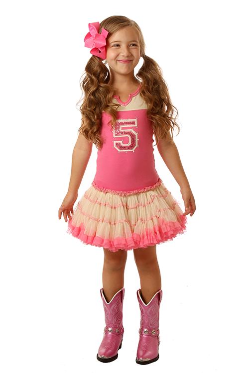 Pink Lady Birthday Dress
