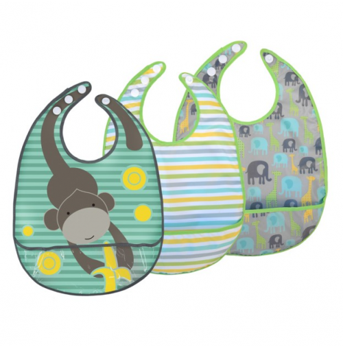 JJ Cole Bib Set - Safari