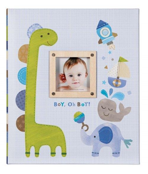 Boy Oh Boy Memory Book