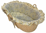Burst Sterling Moses Basket