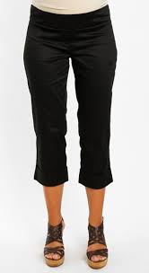 Everly Grey Carrie Crop Pant - Black