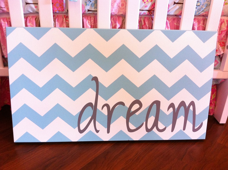 Twelve Timbers Chevron Dream Wall Panel - Customizable!