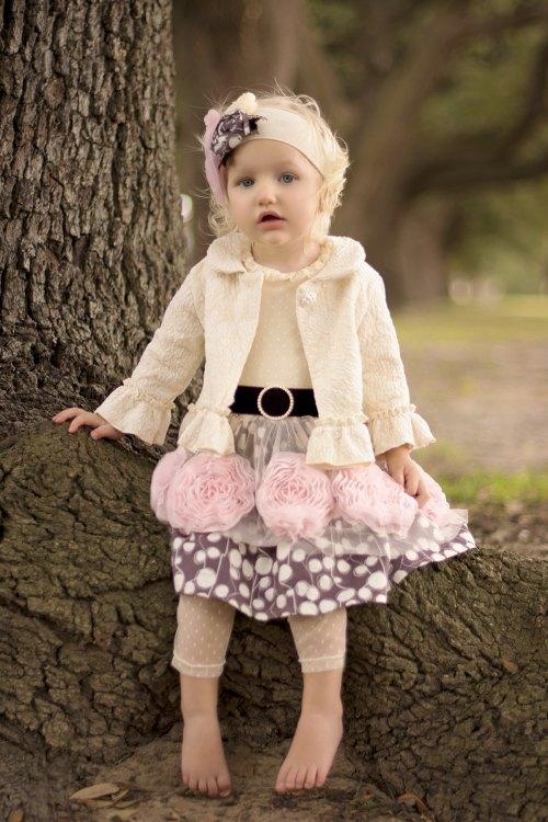 Haute Baby Damask Jacket