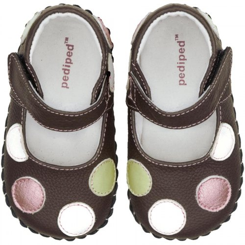 Pediped Originals Giselle - Chocolate Brown