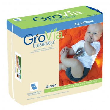 GroVia BioSoaker - 50 count