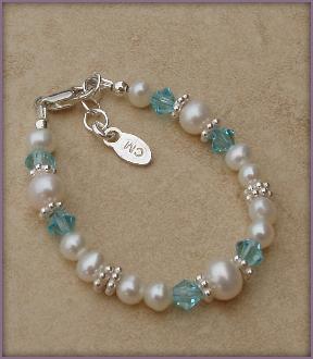 Birthstone Bracelet - Freshwater Pearl