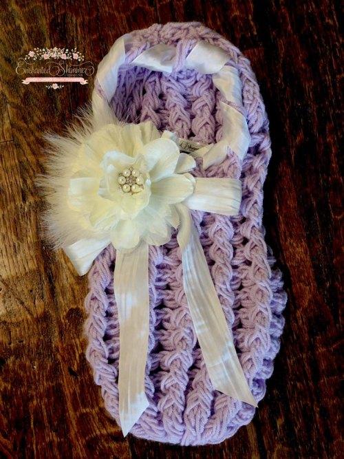 Enchanted Shimmer Lavender Cocoon