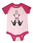 Little Sisters Rock Onesie