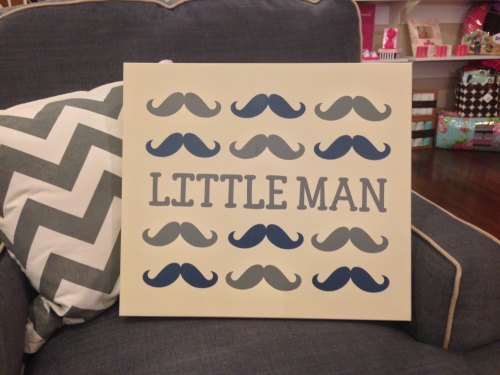 Twelve Timbers Little Man Wall Panel - Customizable!