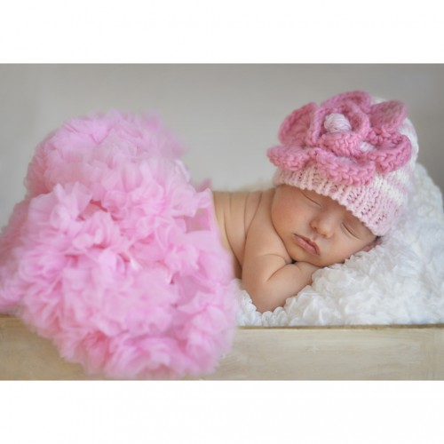 Huggalugs Newborn Light Pink Pettiskirt