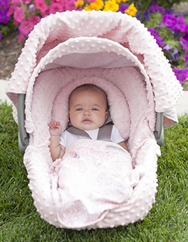 Carseat Canopy Whole Caboodle - Angelina