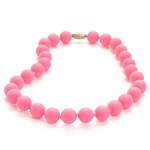 Juniorbeads Jane Necklace - Punchy Pink