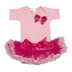 Light & Hot Pink Butterfly Kisses Tutu Set