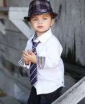 RuggedButts Suave in Purple Stripe Tie