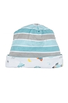 Rocket and Striped Reversible Hat
