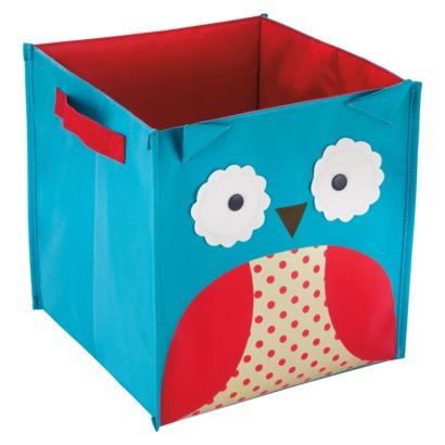Zoo Storage Bin Owl